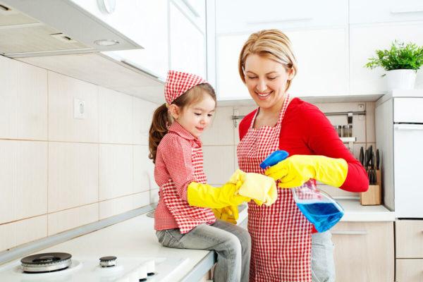 Идеальная кухня для молодой мамы